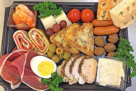 «Koronavennlig» servering – porsjonspakket tallerken/fat